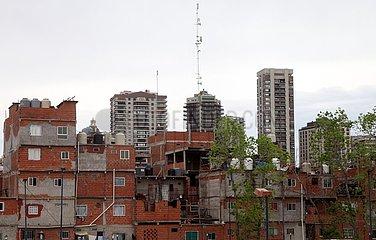 Armensiedlung Villa 31 in Buenos Aires