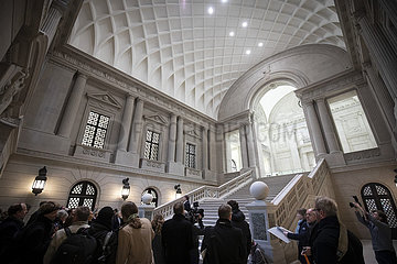 Presserundgang Staatsbibliothek Unter den Linden