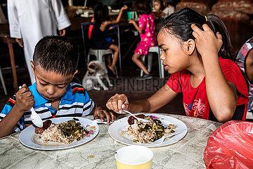 Feeding Program der San Pablo Apostel Pfarrei