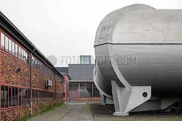 Windkanal der Deutschen Versuchsanstalt fuer Luftfahrt im Wissenschaftspark Adlershof - Stadt fuer Wissenschaft