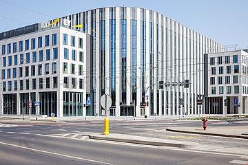 Neubau von Buerogebaeude fuer die Unternehmensberatung EY Ernst & Young in Breslau