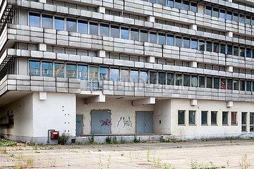 Leerstehende Buerogebaeude in der Gotlindestrasse in Berlin-Lichtenberg