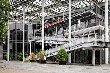 Rueckseite des Kunstmuseum Wolfsburg