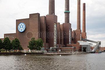 Altes Heizkraftwerk des Volkswagenwerks in Wolfsburg