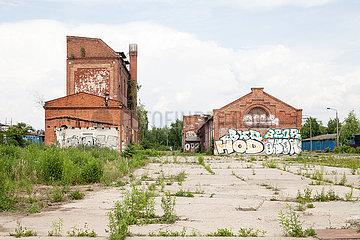 Verlassenes Fabrikgelaende in der Josef-Orlopp-Strasse in Berlin-Lichtenberg