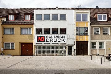 Wohngebaeude und Druckerei in Wolfsburg