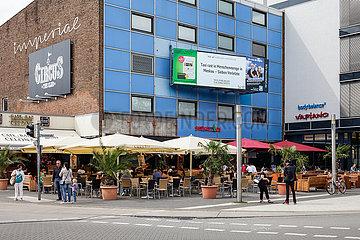 Wohn- und Buerogebaeude in der Porschestrasse in Wolfsburg
