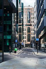 Buerogebaeude im Bankenviertel von London