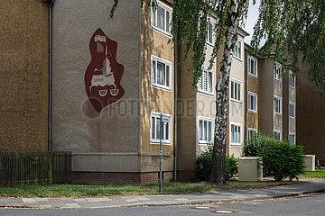 Wohnsiedlung in Wolfsburg