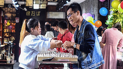 CHINA-GUANGXI-YANGSHUO-NACHT ECONOMY (CN)