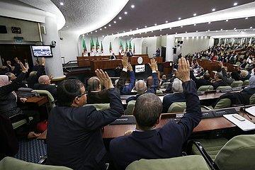 ALGERIEN-ALGIERS-PARLAMENT-Energien-Gesetz-ÄNDERUNGEN