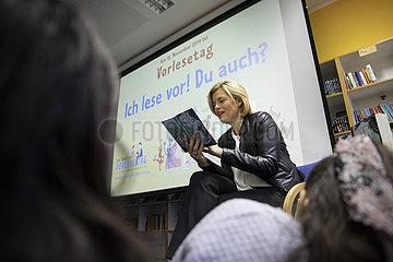 Vorlesetag mit BM Julia Kloeckner