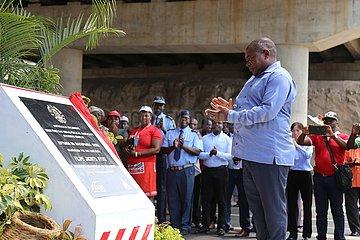 MOZAMBIQUE-MANICA-N6 ROAD-Enthüllungs