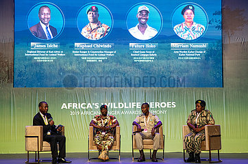 GHANA-ACCRA-AFRICAN RANGERS AWARDS