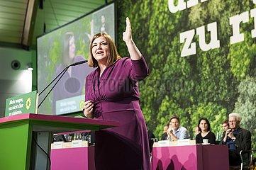Katharina Fegebank - 44. Ordentliche Bundesdelegiertenkonferenz der Grünen 15. - 17. November 2019  Bielefeld