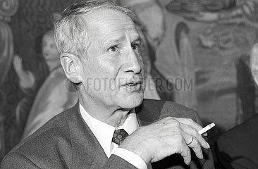 Markus Wolf  Ex-DDR Geheimdienstchef  Muenchen  1991