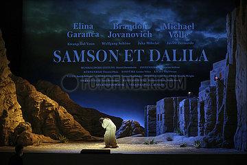 Staatsoper Berlin SAMSON ET DALILA