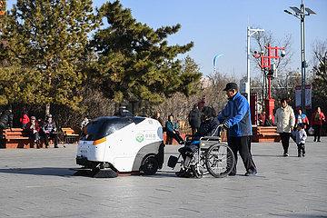 CHINA-INNER MONGOLIA-HOHHOT-Reinigungsroboter (CN)