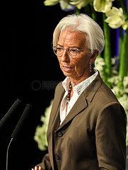 (Portraits) DEUTSCHLAND-FRANKFURT-EUROPEAN BANKING CONGRESS-CHRISTINE LAGARDE (portraits) DEUTSCHLAND-FRANKFURT-EUROPEAN BANKING CONGRESS-CHRISTINE LAGARDE