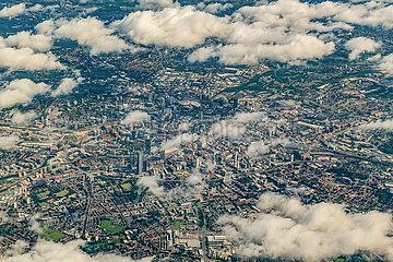 Luftaufnahme von Manchester