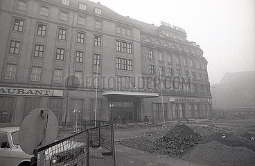 Hotel Astoria in Leipzig  1989