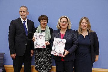 Bundespressekonferenz zum Thema: Monitoring-Bericht zu Klimawandelfolgen