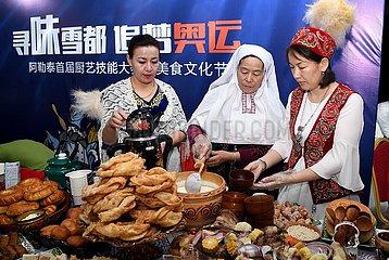 CHINA-XINJIANG-WINTER TOURISMUS MESSE-OPEN (CN)