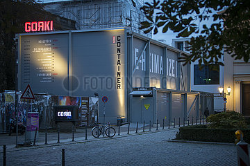 Maxim Gorki Theater Berlin  Container