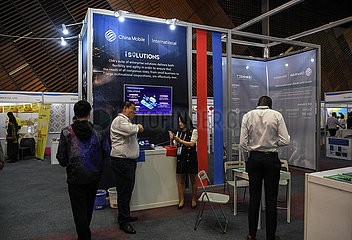 KENIA-NAIROBI-CHINA-KENIA industrielle Kapazitäten ZUSAMMENARBEIT EXPO