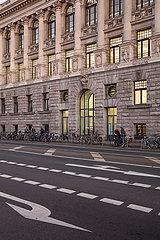 Universitaets-Bibliothek in Leipzig-Mitte