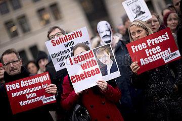 Demonstration Freedom Assange