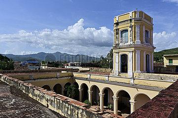 Kuba  Trinidad - Ausblick vom Stadtmuseum auf die Stadt