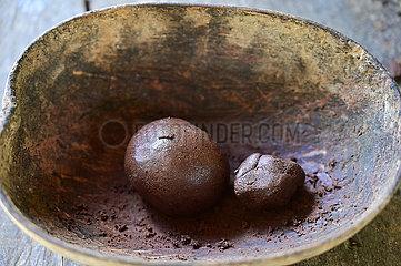 Kuba  Baracoa-Kakaoverarbeitung auf einer Plantage