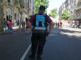 Protest gegen soziale Ungleichheit in Buenos Aires