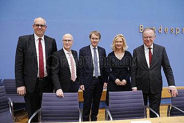 Bundespressekonferenz zum Thema: Zukunft der Windenergie