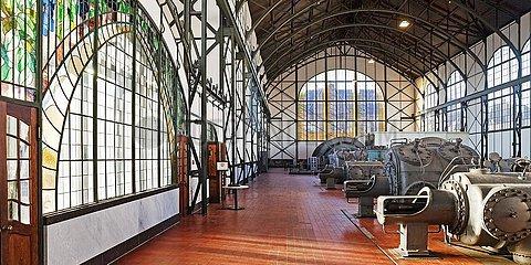 Maschinenhalle Zeche Zollern  Industriemuseum  Dortmund  Ruhrgebiet  Nordrhein-Westfalen  Deutschland  Europa
