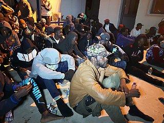LIBYEN-TRIPOLIS-MIGRANTEN-RESCUE