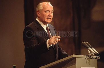 Gorbatschow in Muenchen  1992