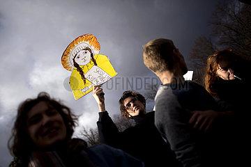 Saint Greta  FridaysForFuture