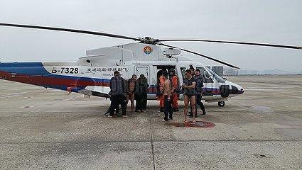 (SPOT NEWS)CHINA-FUJIAN-FISHING BOAT-RESCUE (CN)