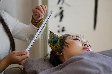 CHINA-CHONGQING-EAR CLEANING FÄHIGKEIT (CN)