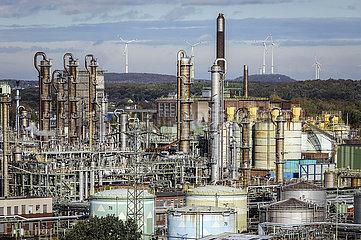 OXEA Werk Ruhrchemie in Oberhausen  Ruhrgebiet  Nordrhein-Westfalen  Deutschland  Europa