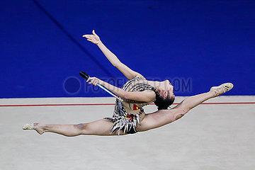 (SP) PHILIPPINEN-MANILA-SEA GAMES-Rhythmische Gymnastik-CLUBS FINALE