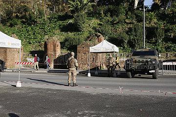 Armeestreife in Rom
