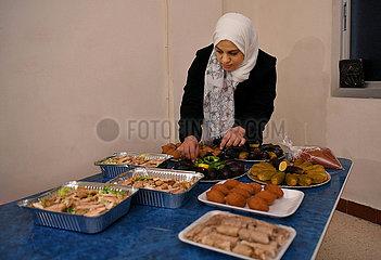 SYRIEN-DAMASKUS-DANIA-Küche