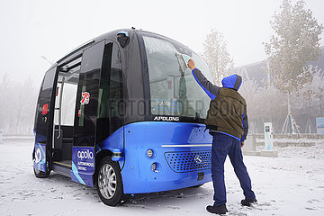 CHINA-HEBEI-XIONGAN- 'UNMANNED' Technologie-CITY LIFE (CN)