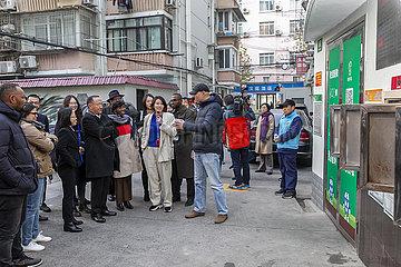 CHINA-Shanghai-TEILNEHMER des Süd-Süd HUMAN RIGHTS FORUM-VISIT (CN)