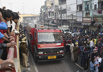 (SPOT NEWS) INDIA-DELHI-FIRE (SPOT NEWS) INDIA-DELHI-FIRE