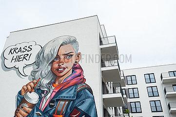 Berlin  Deutschland  Neue Wohnbauten in der Europacity in Moabit