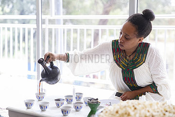 Kaffeezeremonie
